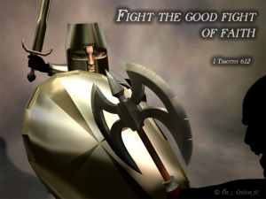 Armor of God, Shield, Buckler, Sword of Spirit